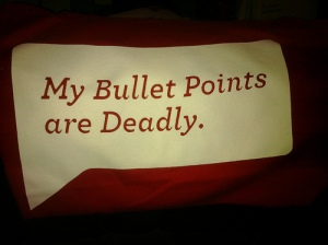 deadly bullet points