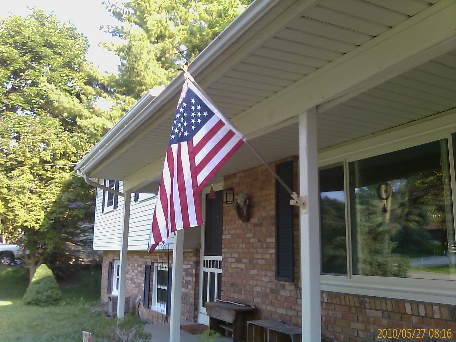 wonderful flag for house #5: Advertisements