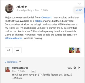 comcast google