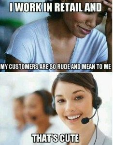 customer service meme