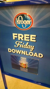 Kroger Free Friday download sign