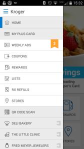 Kroger app screenshot