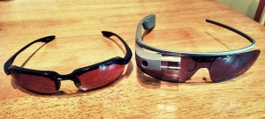 Sunglasses and Google Glass