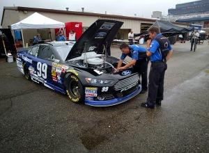 #99 race car