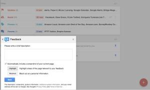 inbox feedback