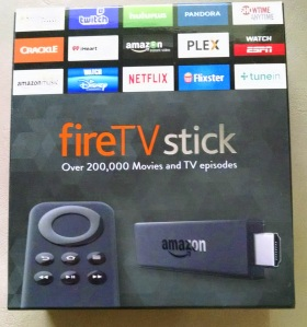 Amazon FireTV Stick box