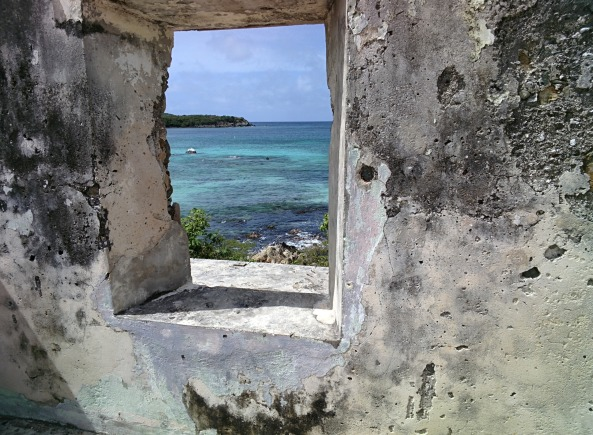 A shot taken on St. John, USVI, during a family vacation. It symbolizes a favorite memory and a window onto the world that Glass provides all of its users.