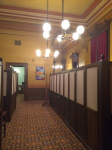 The main hallway inside the Speaker's Office suite.
