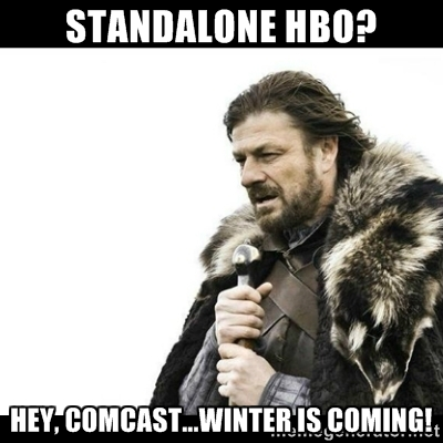 winter comcast meme