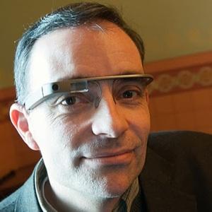 Ari B. Adler with Glass
